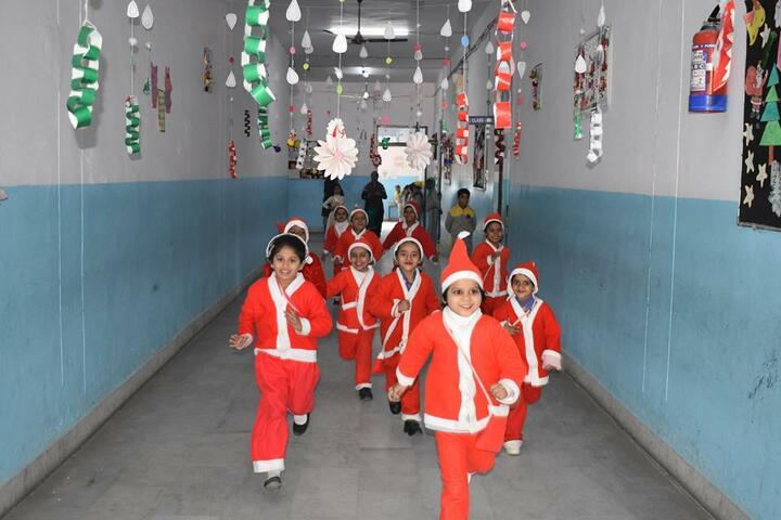 Santosh International School- Christmas Celebrations