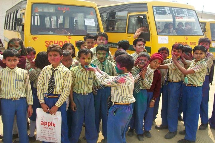 Sapna International Public School- Holi Celebrations