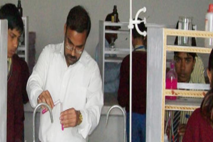 Sapna International Public School- Science Lab