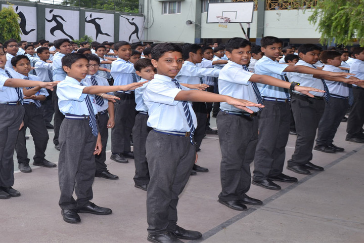 Sarti Devi Raja Ram Public School-Assembly