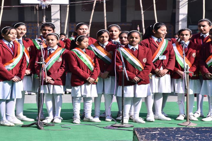 Sarti Devi Raja Ram Public School-Group Song