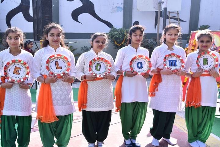 Sarti Devi Raja Ram Public School-Republic Day