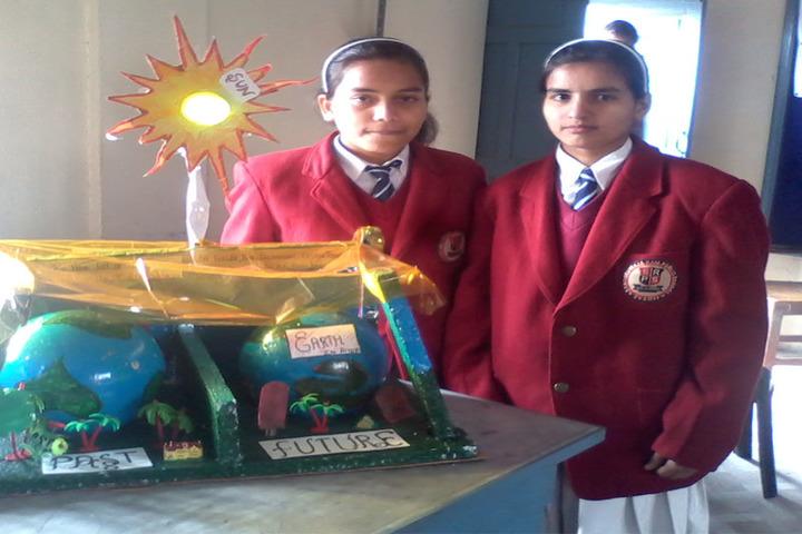 Sarti Devi Raja Ram Public School-Science Exhibition