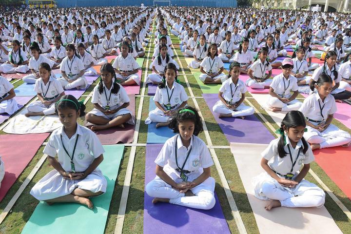 Sarti Devi Raja Ram Public School-Yoga