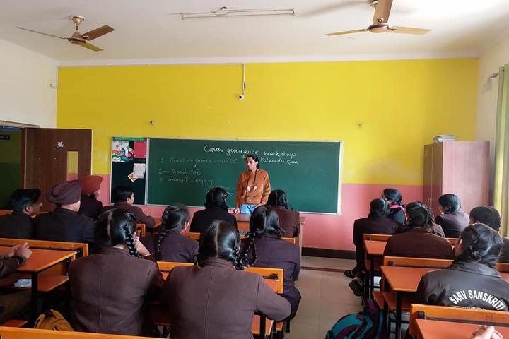 Sarv Sanskriti School-Classrooms