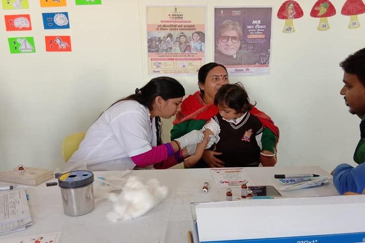 Sarv Sanskriti School-Deworming