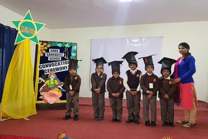 Sarv Sanskriti School-Graduation Ceremony