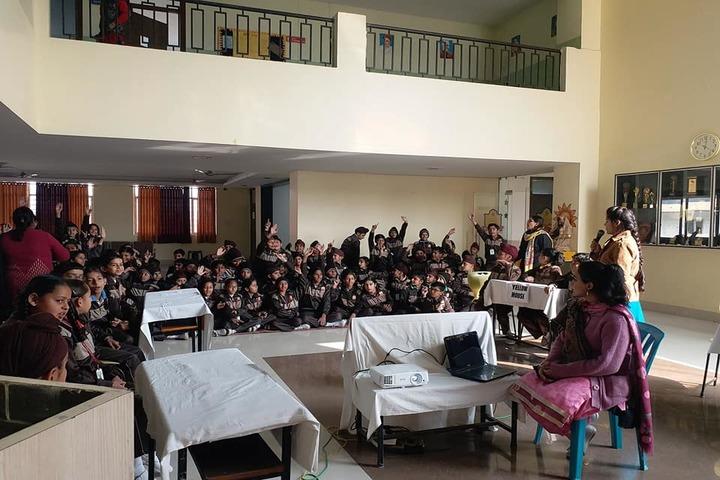 Sarv Sanskriti School-Quiz