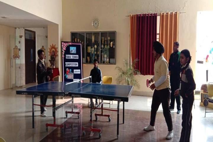 Sarv Sanskriti School-Table Tennis