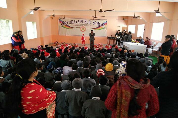 Sarvoday Pulic School-Christmas Celebrations