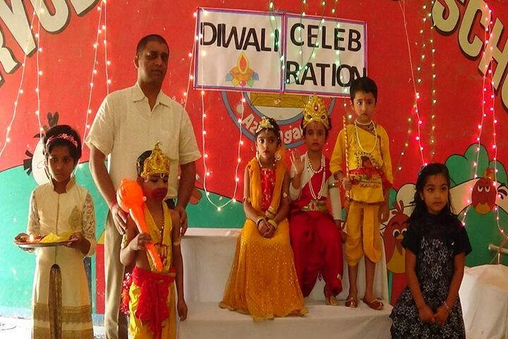 Sarvoday Pulic School-Diwali Celebrations