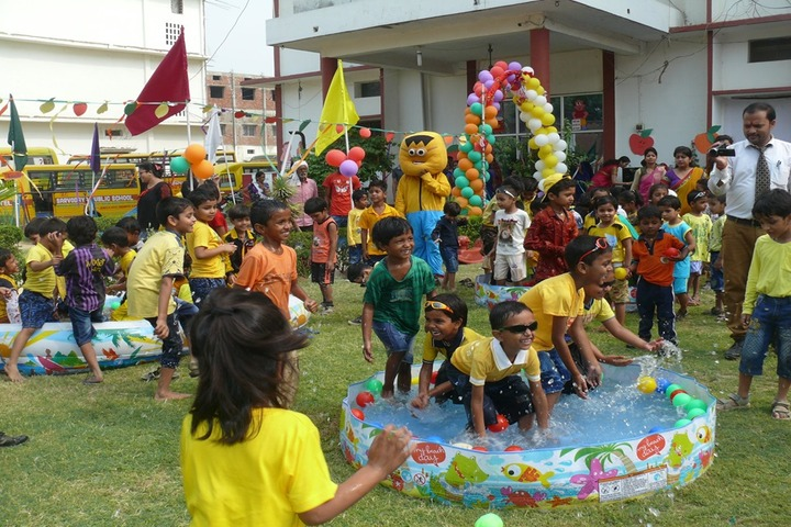 Sarvoday Pulic School-Pool Party Celebrations