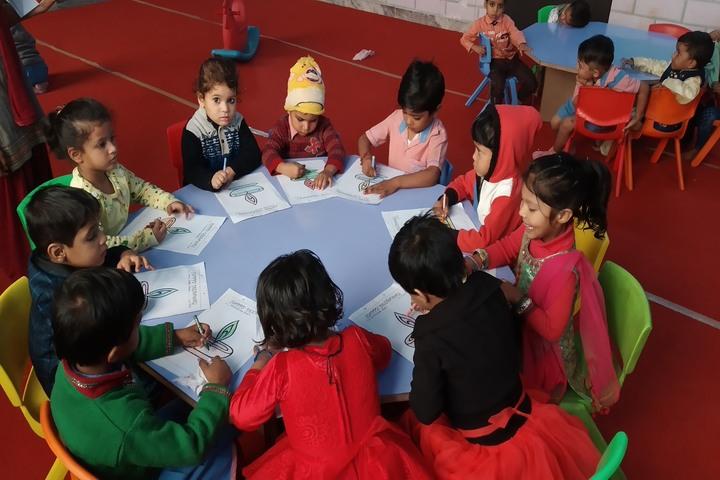 Sarvodaya Public School-Art room