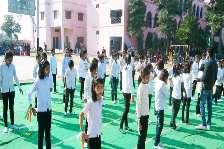 Sarvodaya Public School-Assembly