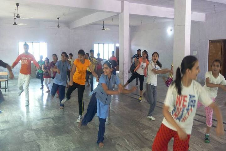 Sarvodaya Public School-Dance room