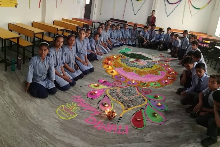 Sarvodaya Public School-Rangoli