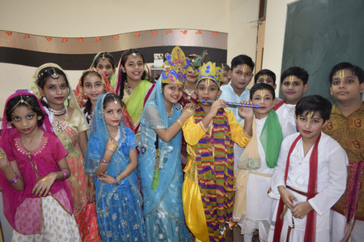Scholar Mission School-Janmastami Celebrations