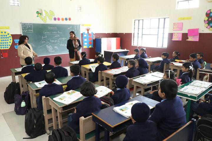Scholars Senior Secondary School-Classrooms