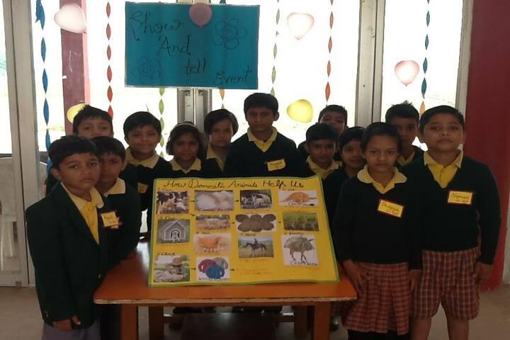 SCSB International School-Poster Making