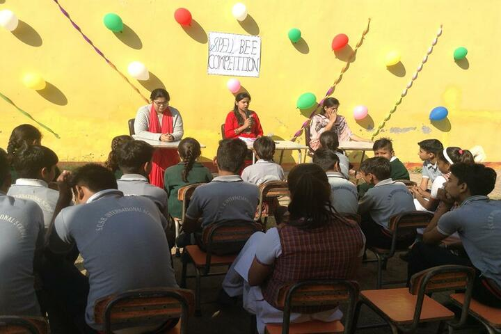 SCSB International School-Spell Bee Competition