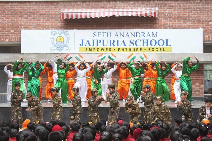Seth Anandram Jaipuria School-Republic Day