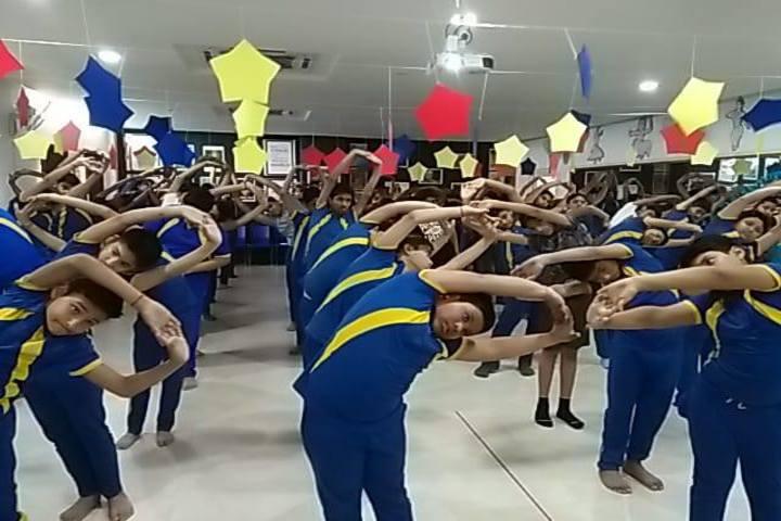 Seth Anandram Jaipuria School-Yoga