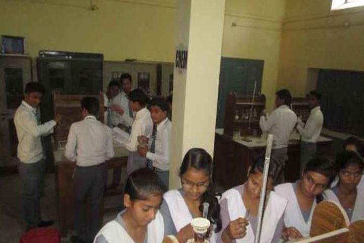 Seth Channuram Bajaj Memorial Public School-Chemistry Lab