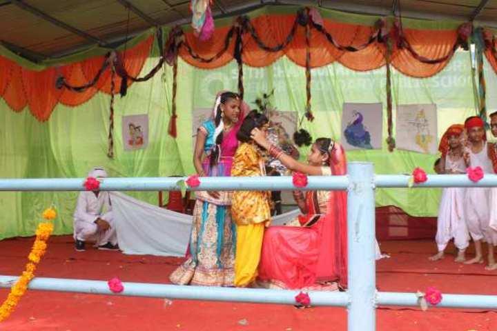 Seth Channuram Bajaj Memorial Public School-Play role