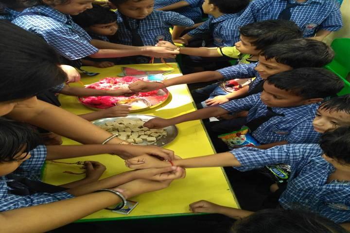Seth Channuram Bajaj Memorial Public School-Rakhi Celebrations