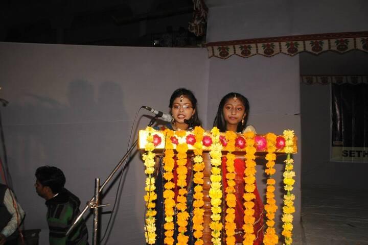 Seth Chhoteylal Academy-Anchoring