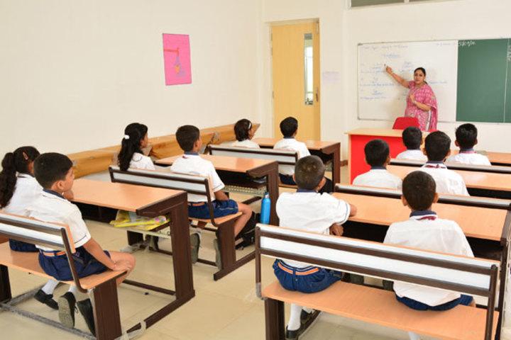 Seth M R Jaipuria School-Classroom
