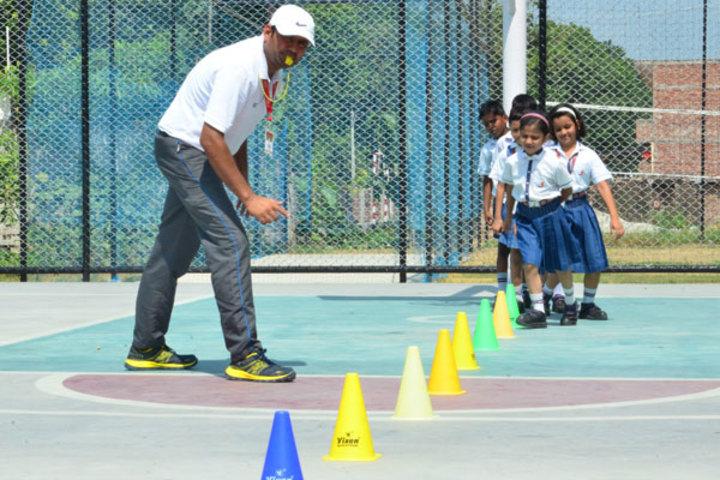 Seth M R Jaipuria School-Sports