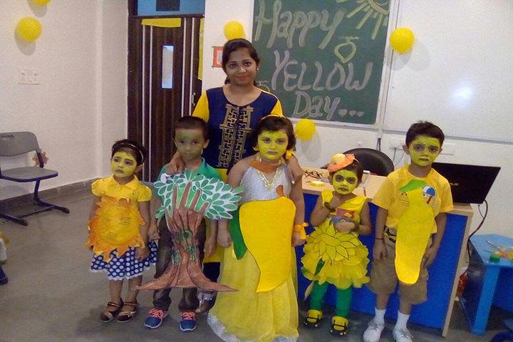 Seth M R Jaipuria School-Yellow Day