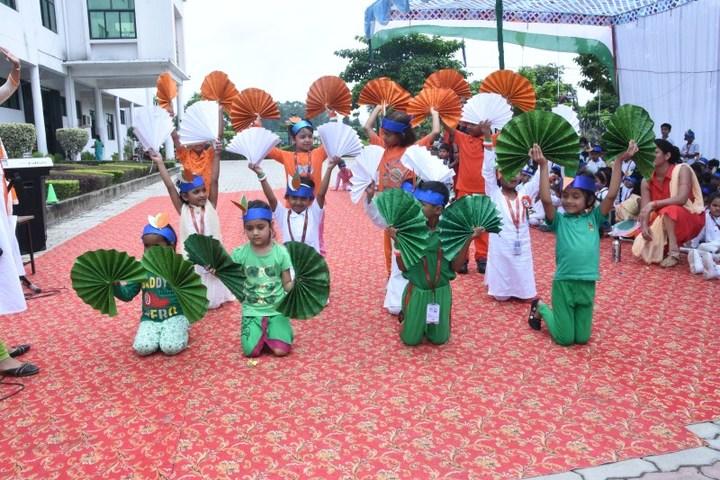 Seth M R Jaipuria School-Independence Day