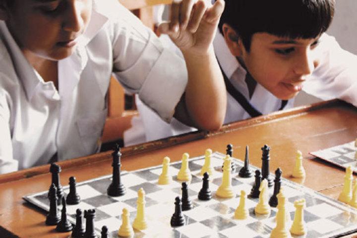 Seth M R Jaipuria School-Indoor Games