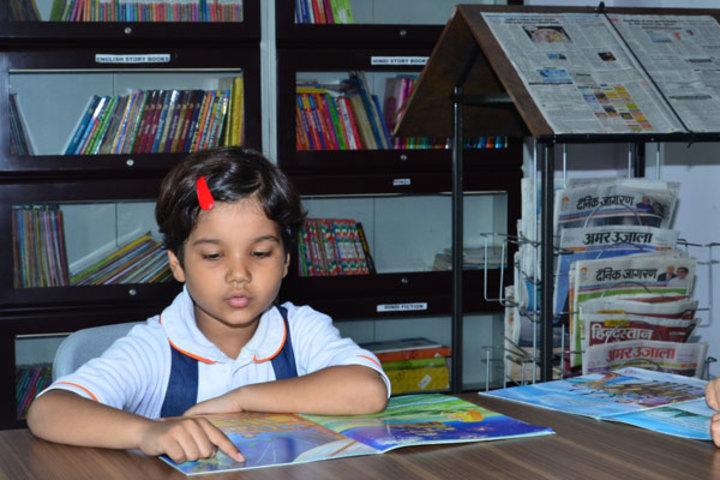 Seth M R Jaipuria School-Library