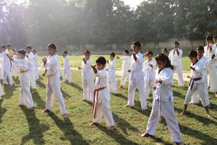 Seth M R Jaipuria School-Karate