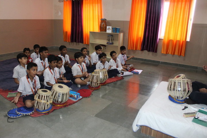 Seth M R Jaipuria School-Music Room