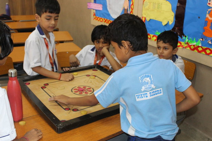 Seth M R Jaipuria School-Indoor Games