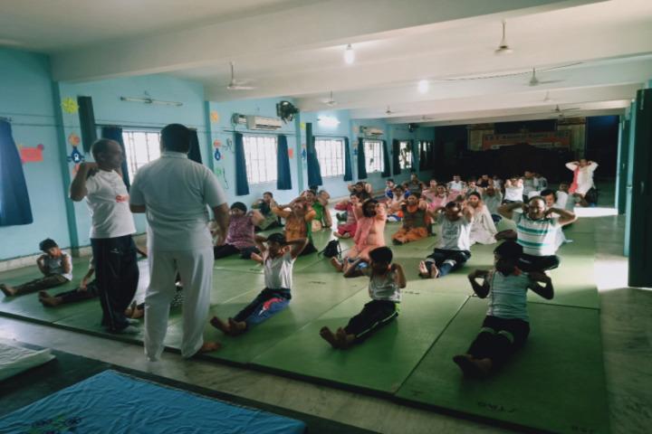 S R D A V Public School-Yoga