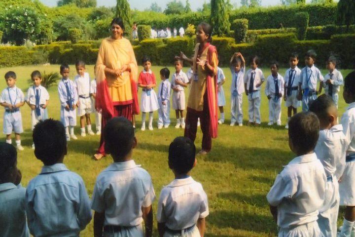 Shaheed Manveer National School-Garden