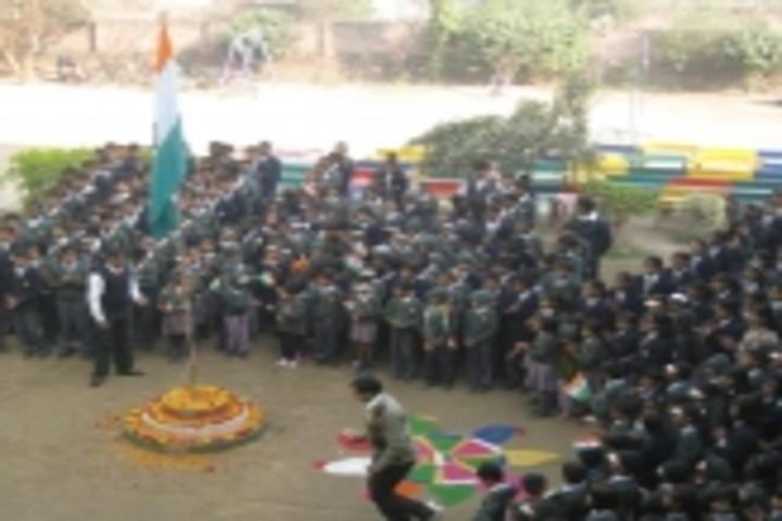 Shandilya Public School-Assembly Ground