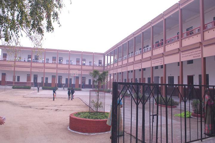 Shanti Devi Memorial Public School-School Front View