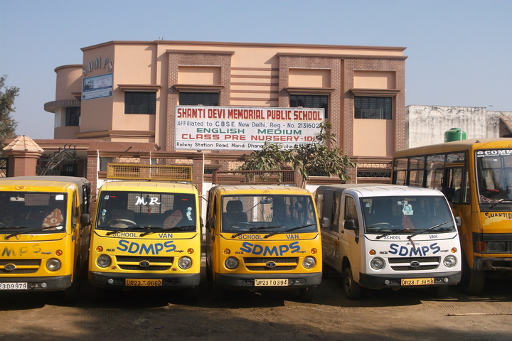 Shanti Devi Memorial Public School-Transport