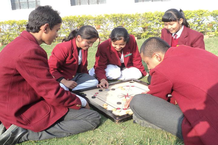 Sharada Public School-Games