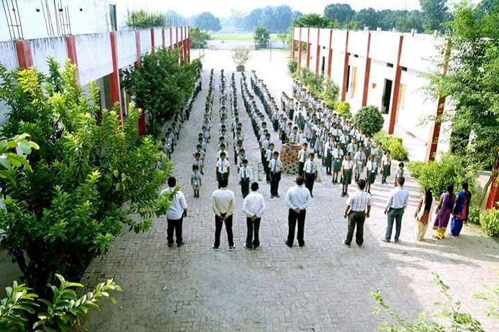 Sharda Vidhya Public School-Assembly