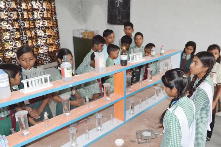 Sheetala Children School-Science Lab