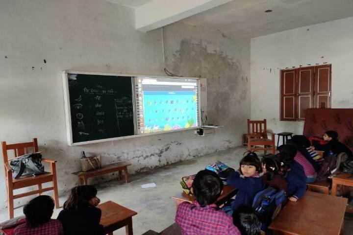 Sheetla Prasad Tripathi Public School-Smart Classroom
