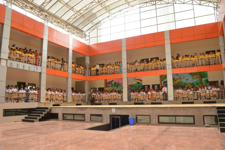 Shemford Futuristic School-Multi purpose hall