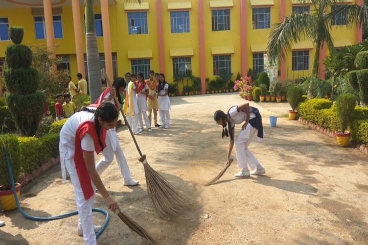 Shemford Futuristic School-Swach Bharath